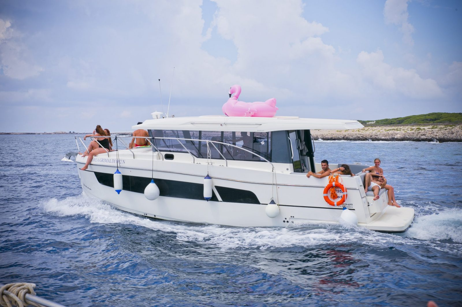 Vacanza in barca a favignana
