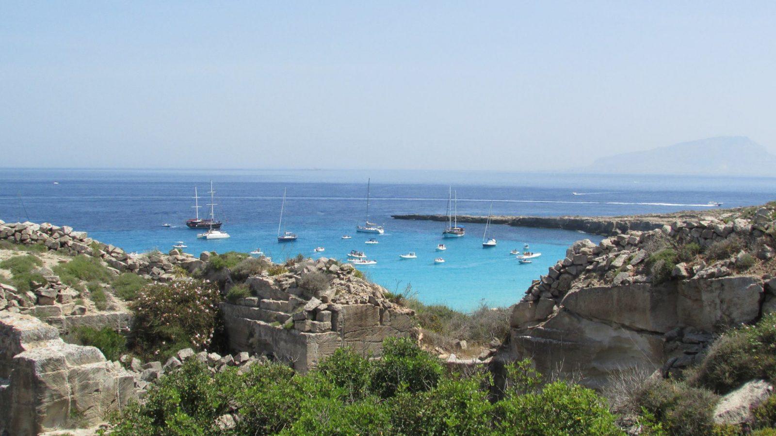 Favignana in barca - Noleggio Grimaldi - Noleggio Barca