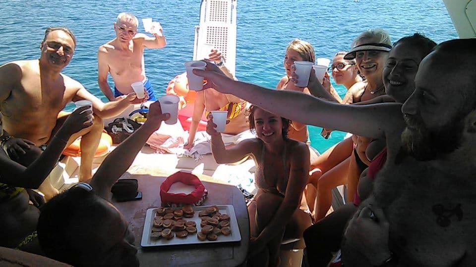 Aperitivo in barca a Favignana - Noleggio Favignana