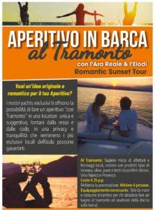 Aperitivo in barca a Favignana - Noleggio Grimaldi