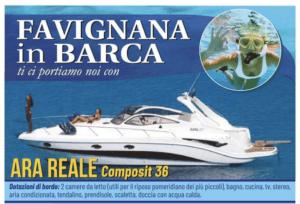 favignana in barca ara reale - Vacanza in barca a favignana