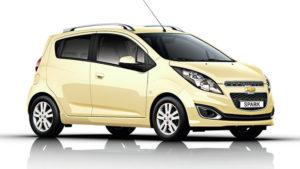 Chevrolet Spark Noleggio Utilitaria - Noleggio Grimaldi